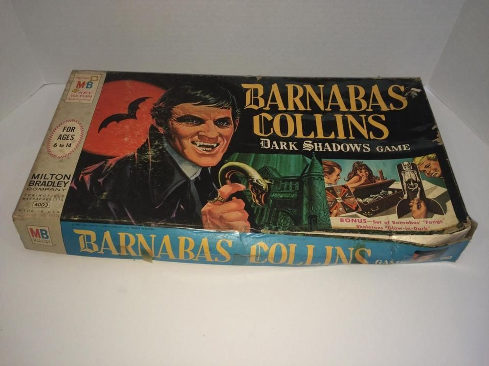 the dark shadows board game