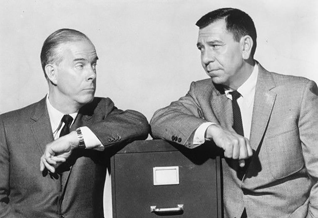 Jack Webb And Harry Morgan