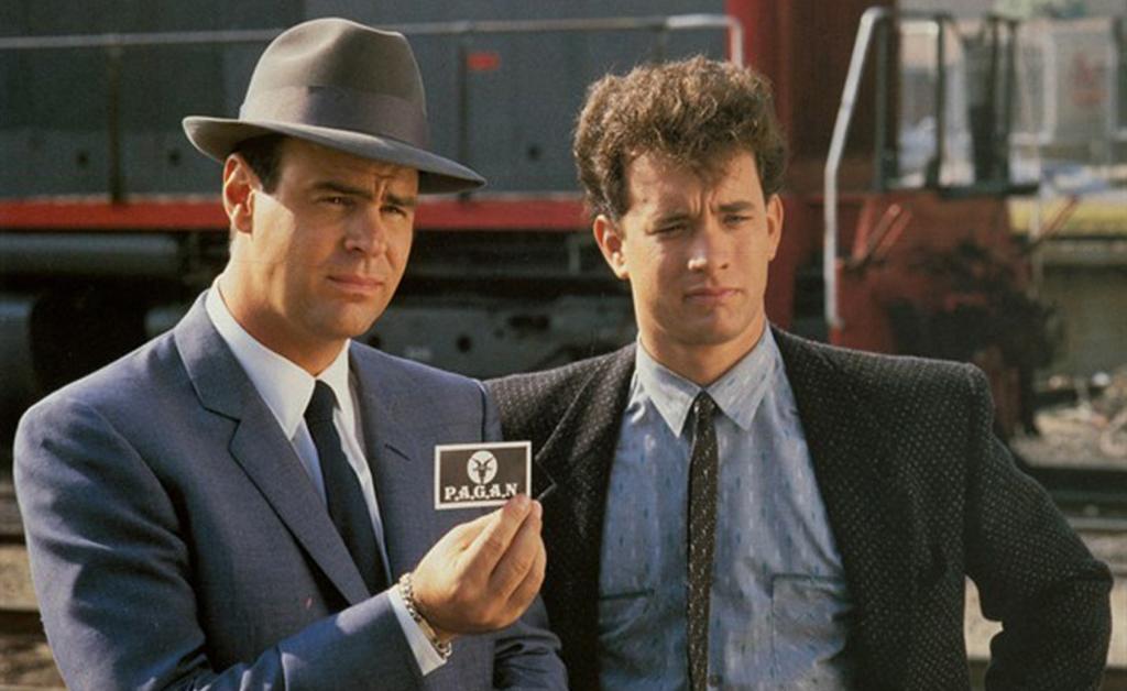 Dan and Tom Hanks