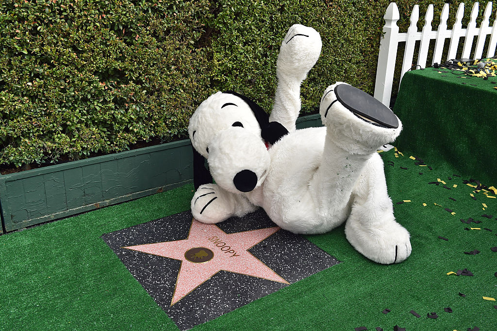 Snoopy walk of fame