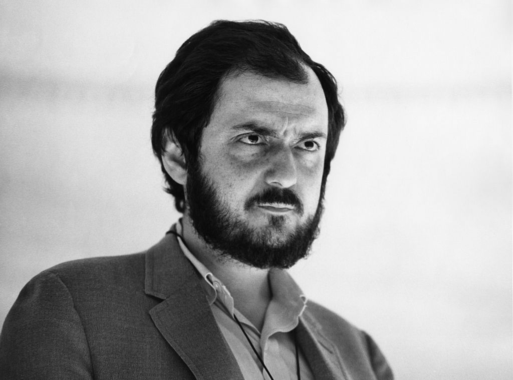 stanley kubrick in a close up image