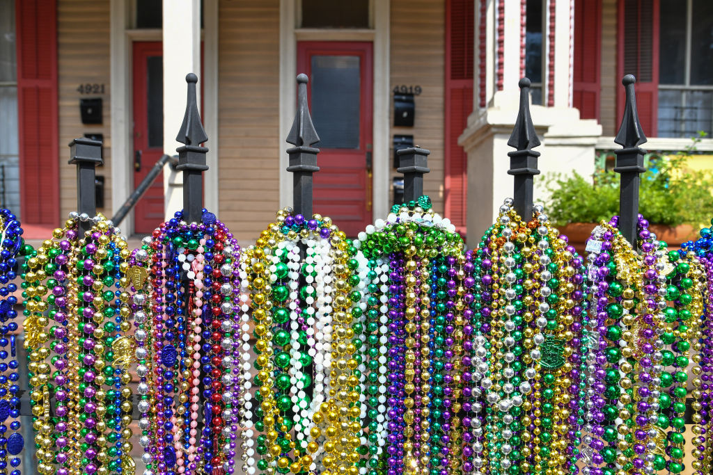Beads on a fence