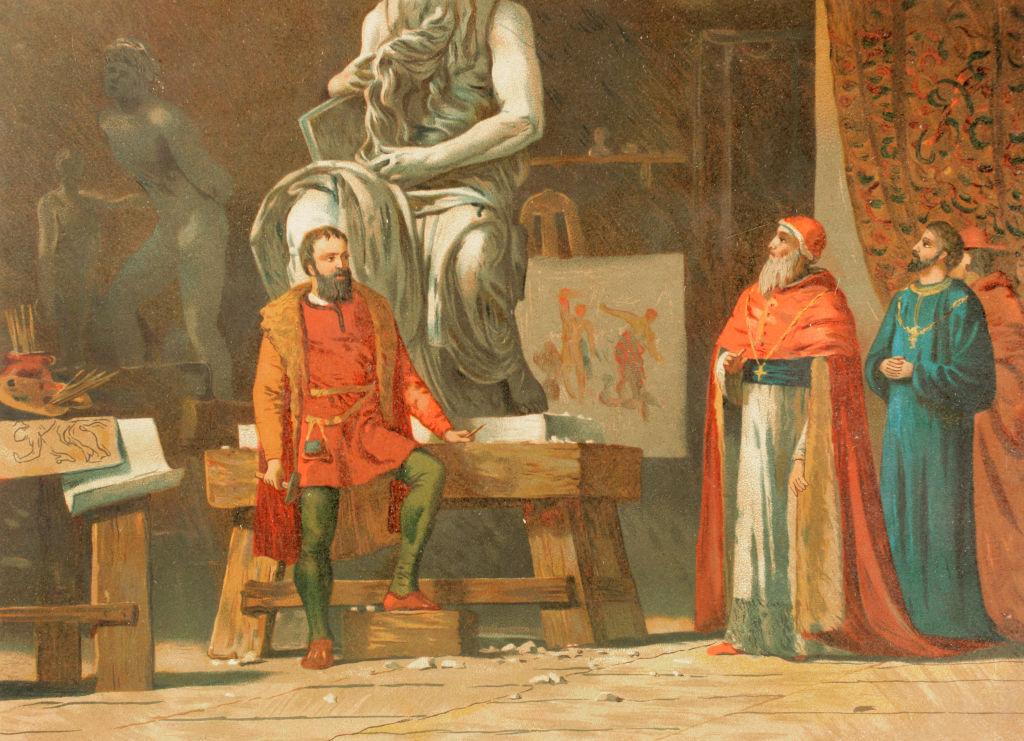 Michelangelo and Julius II