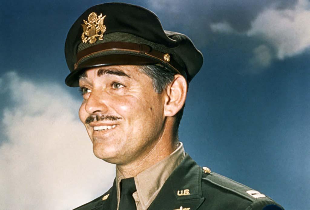 Clark Gable in uniform