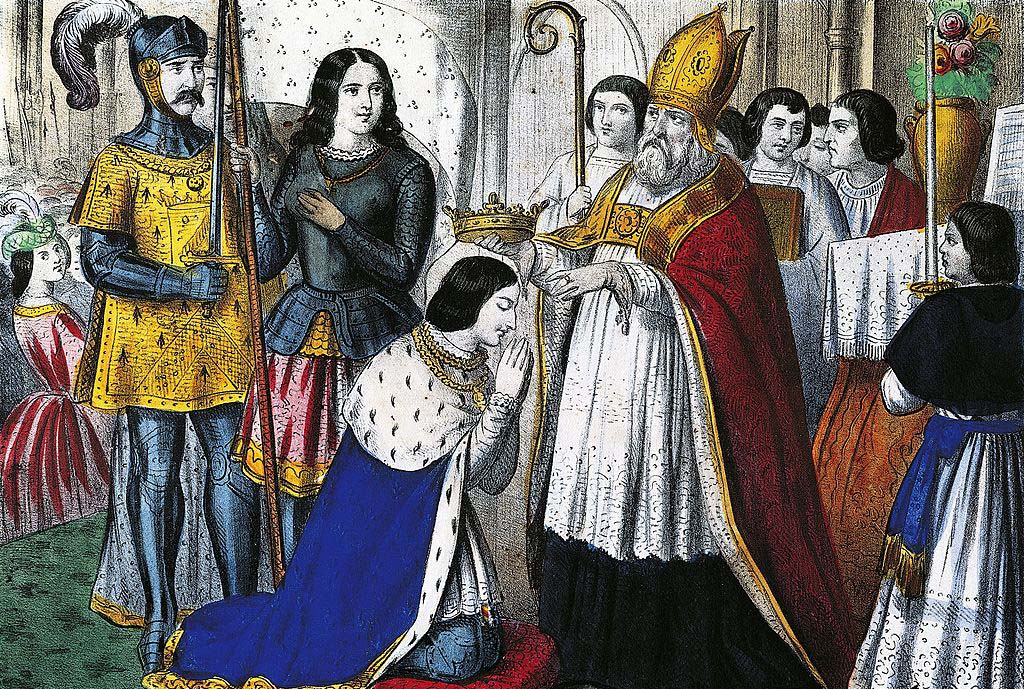 Crowning of Charles VII
