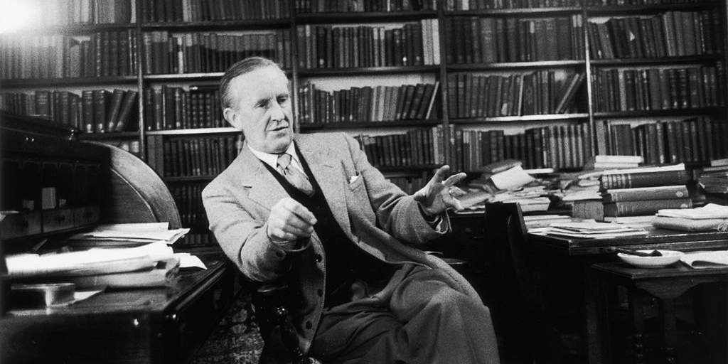 Tolkien explaining something