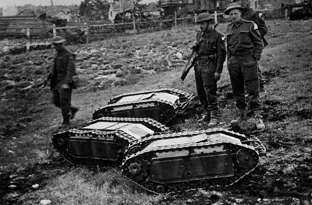 Remote controlled tanks