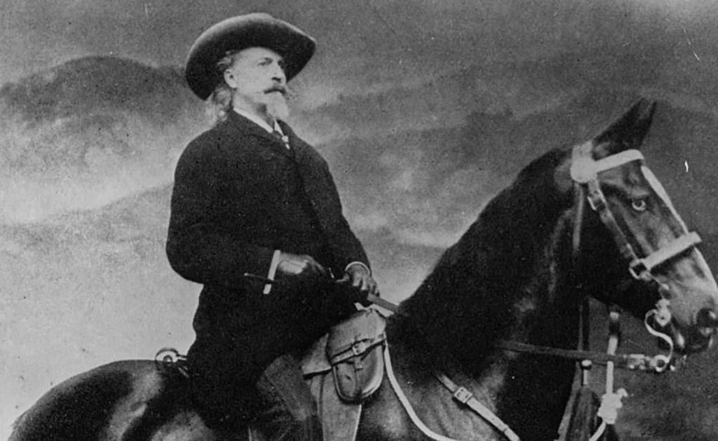 Cody on a horse