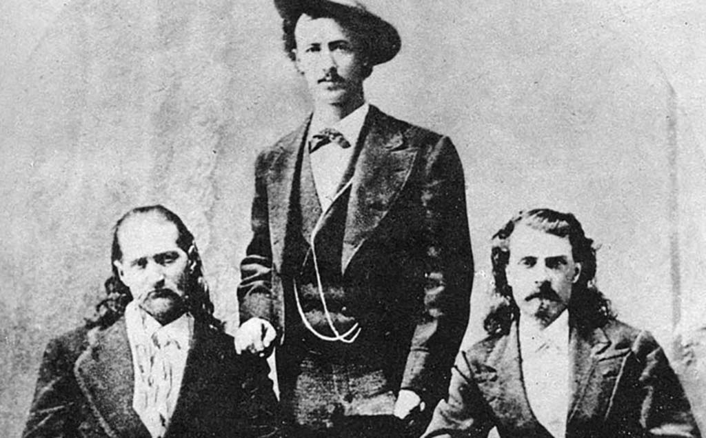 Hickok, Cody, and Texas Jack