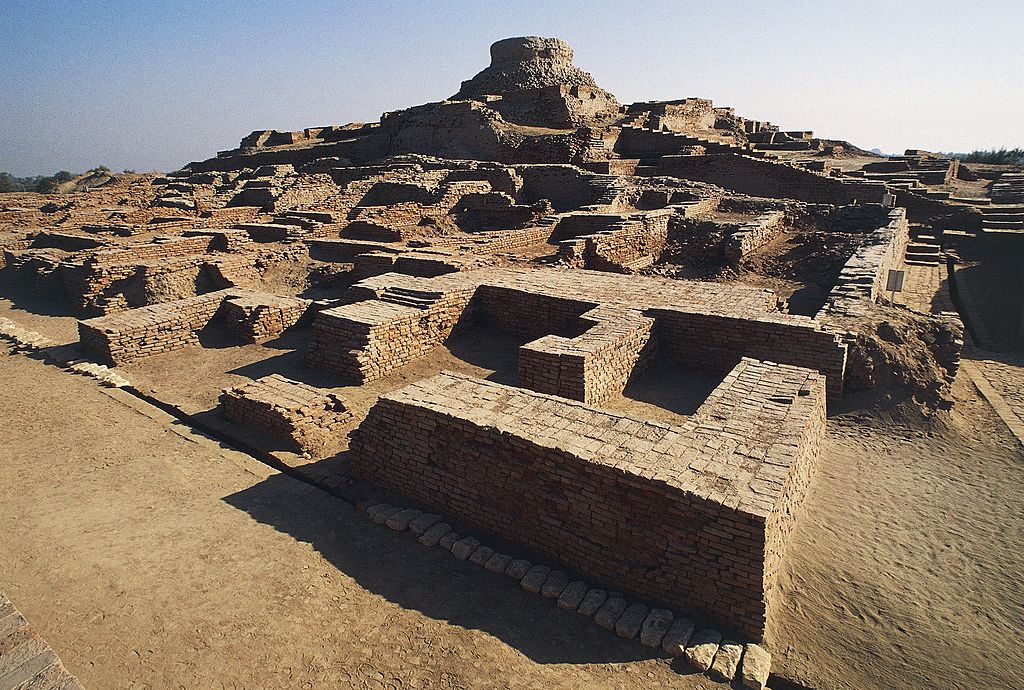 Remains of Indus Valley city