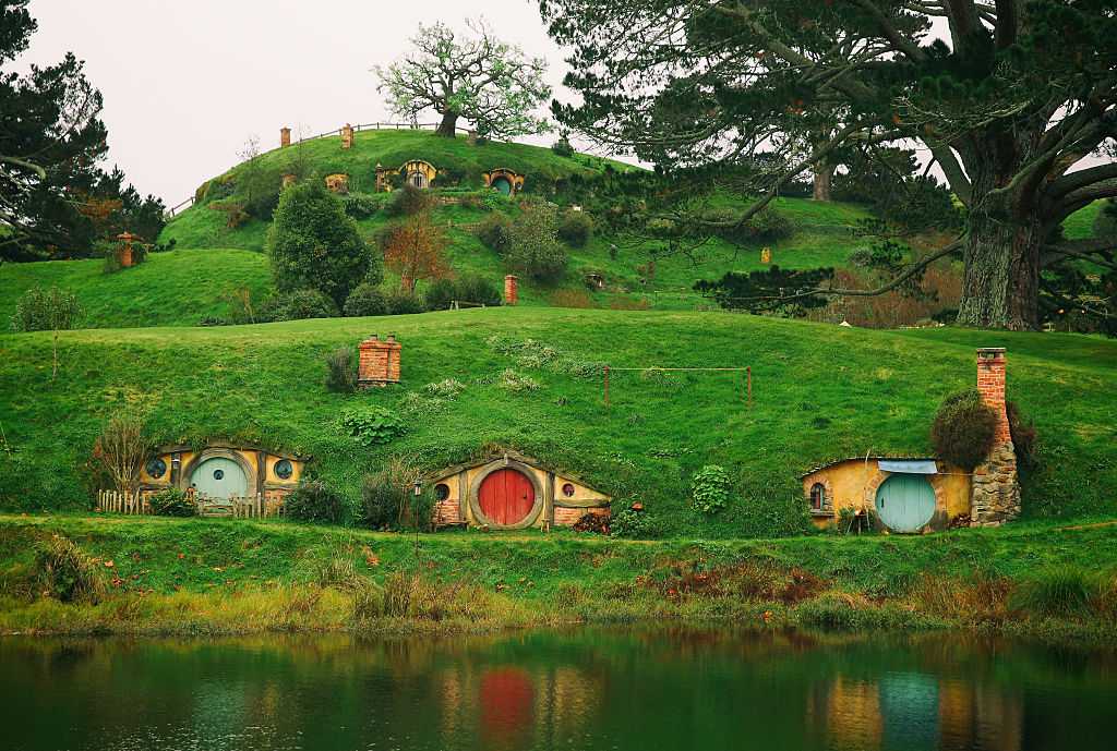The Shire set in new Zealand
