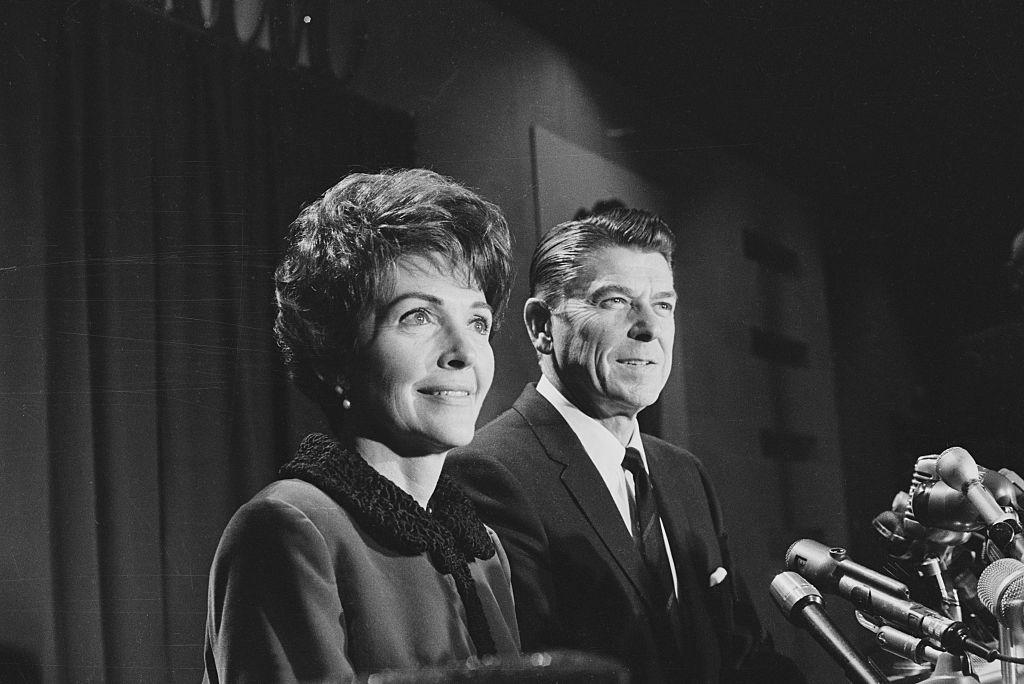 Nancy Davis and Ronald Reagan