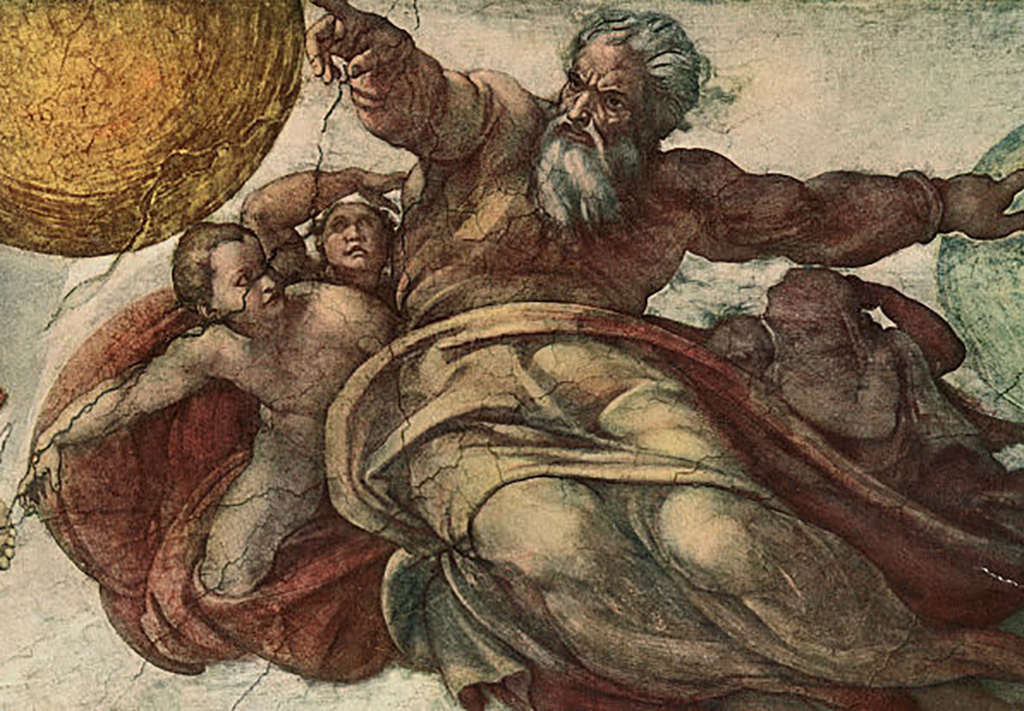 God in Sistine Chapel