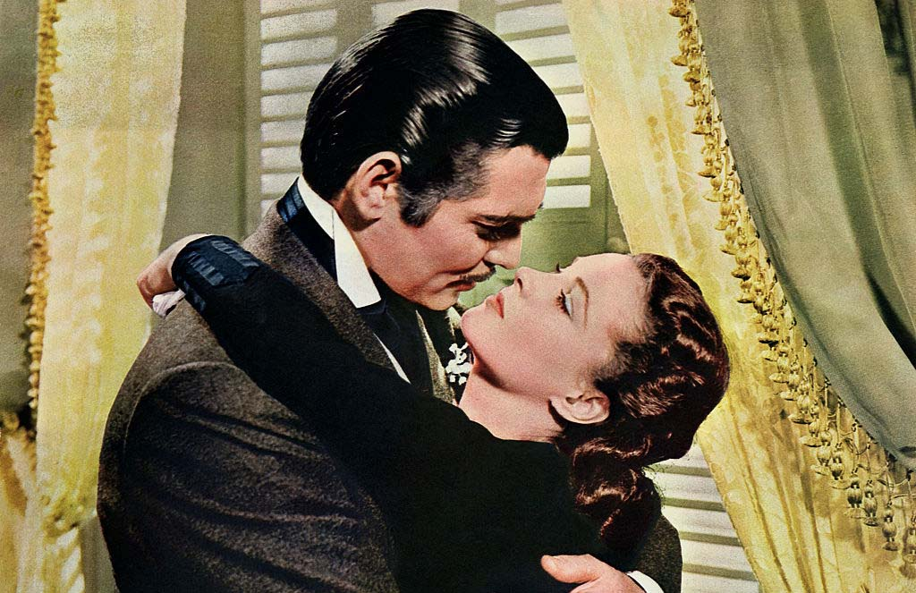 Famous scene from Gone with the Wind