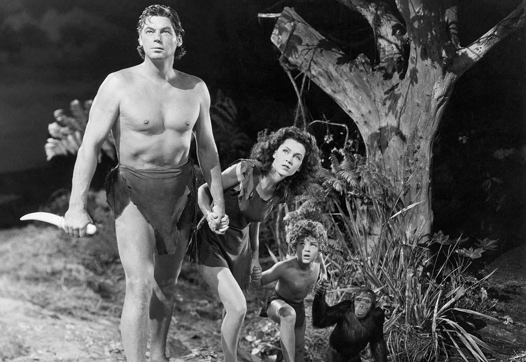 Weissmuller as Tarzan