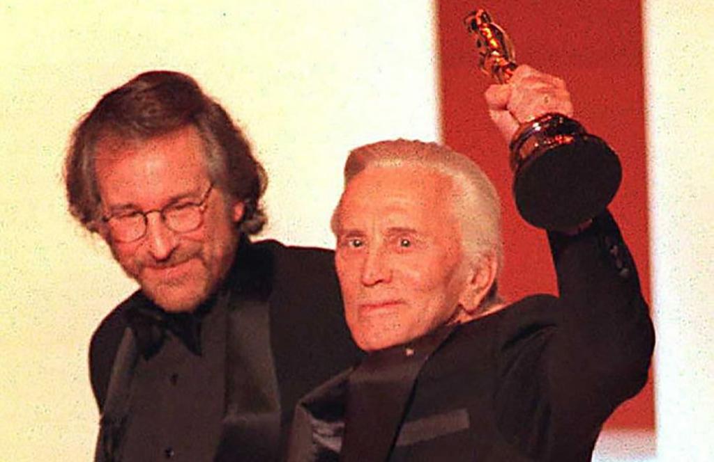Douglas with Oscar