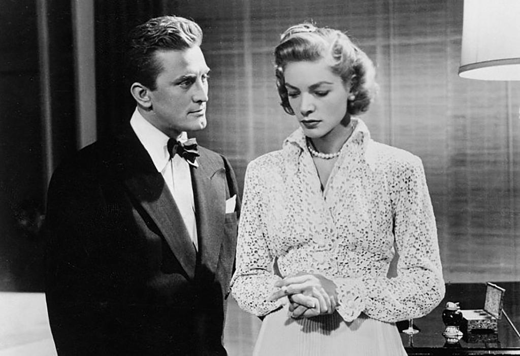 Douglas and Bacall