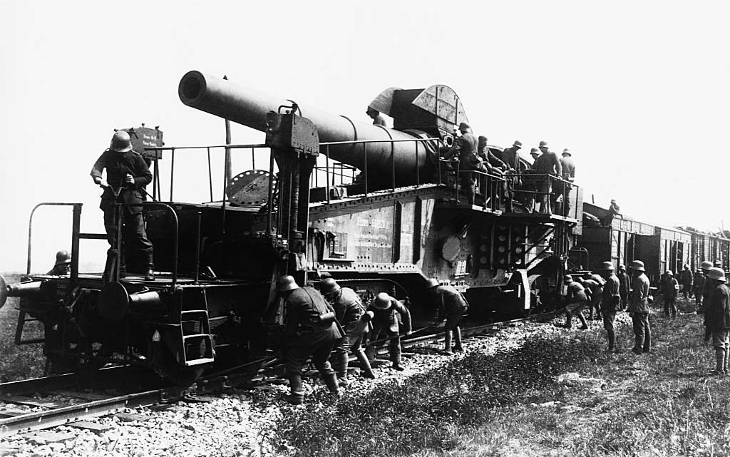 German railway gun