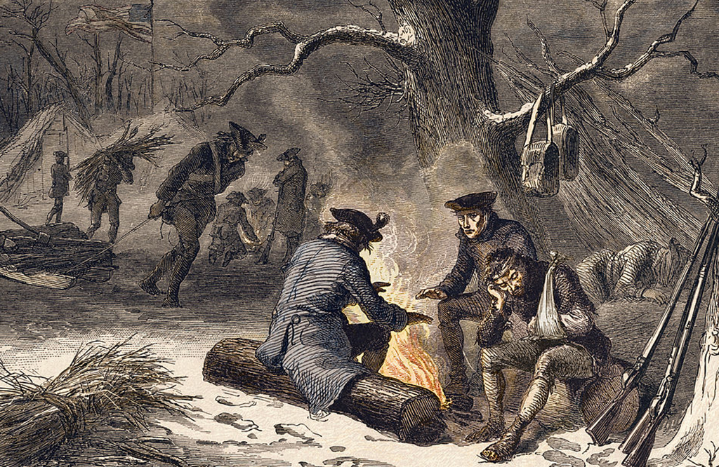 Men at Valley Forge