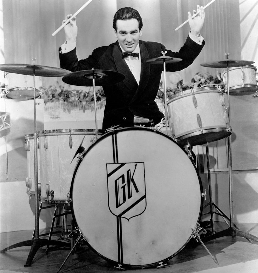 Gene Krupa Is The Father Of The Modern Drum Kit