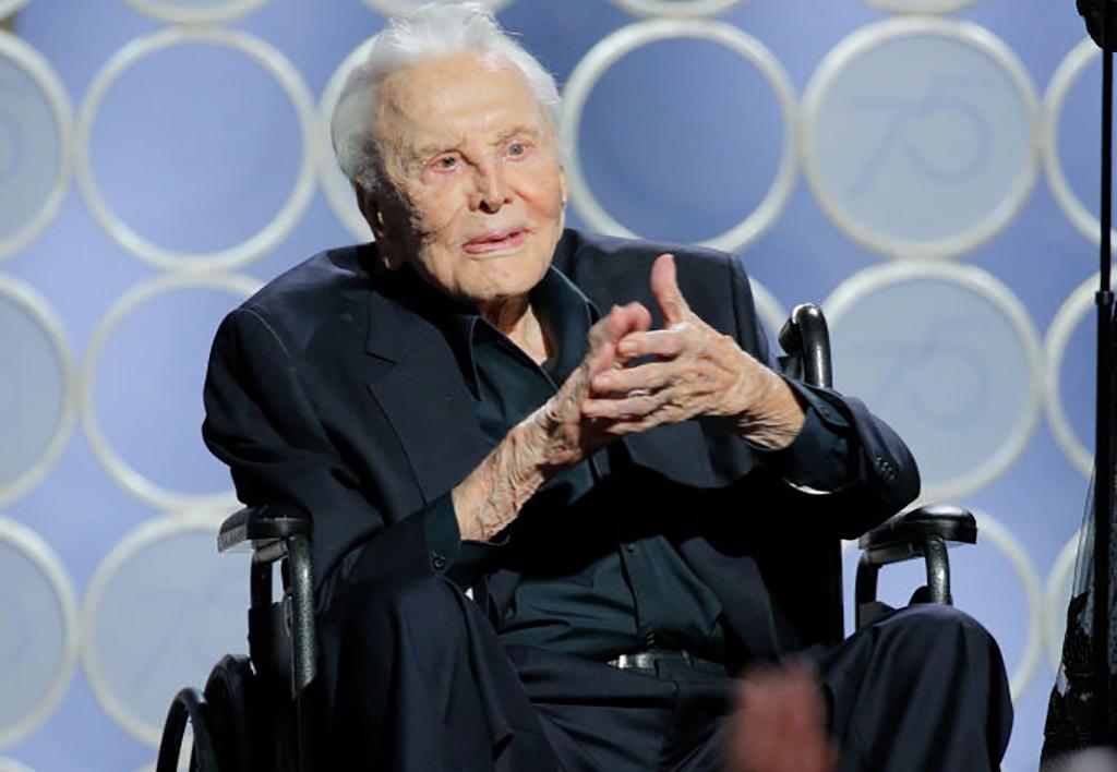 Douglas at the Golden Globes