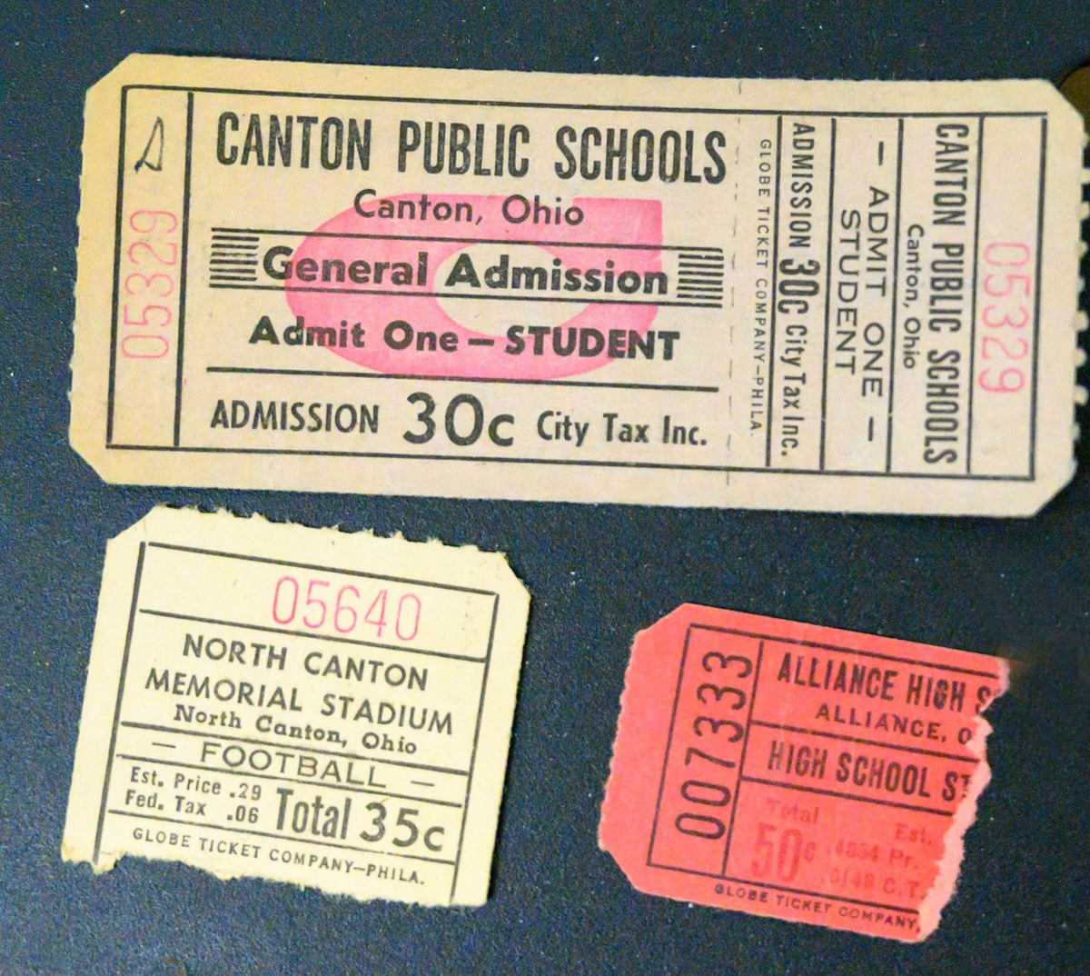 for public schools, admit one ticket