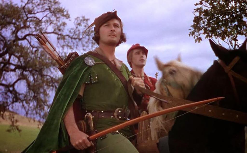 Flynn as Robin Hood