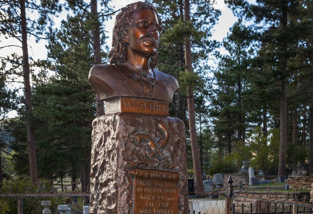 bill hickok grave site