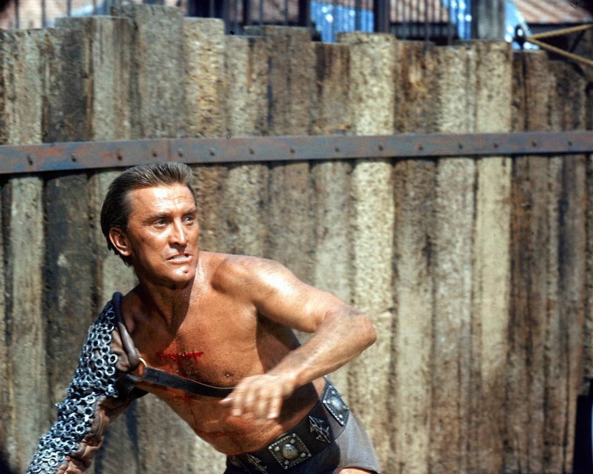 spartacus actor kirk douglas