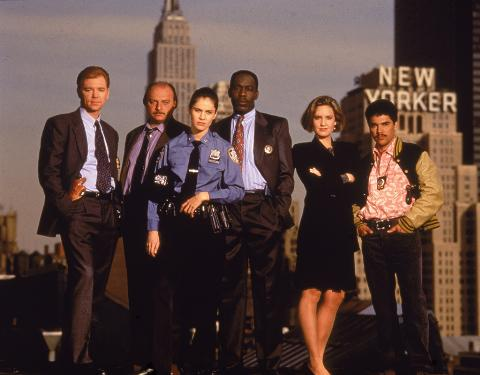 Cast Of 'NYPD Blue'