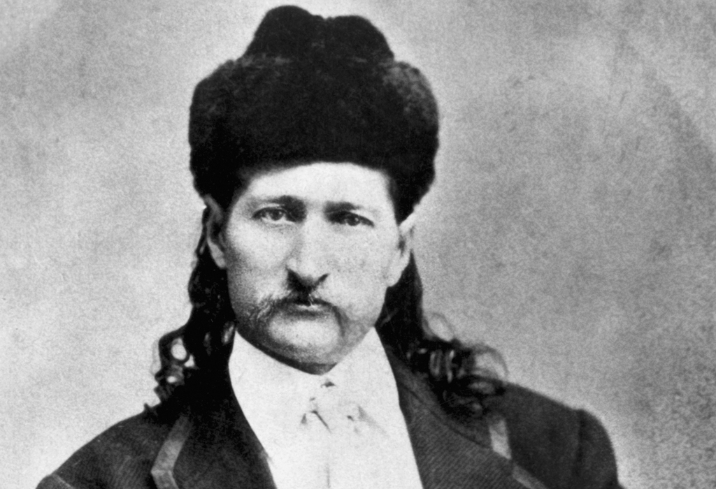 wild bill pictured wearing a fluffy hat