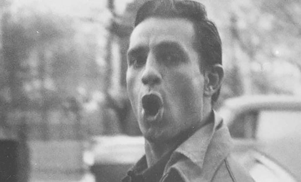 Kerouac outside