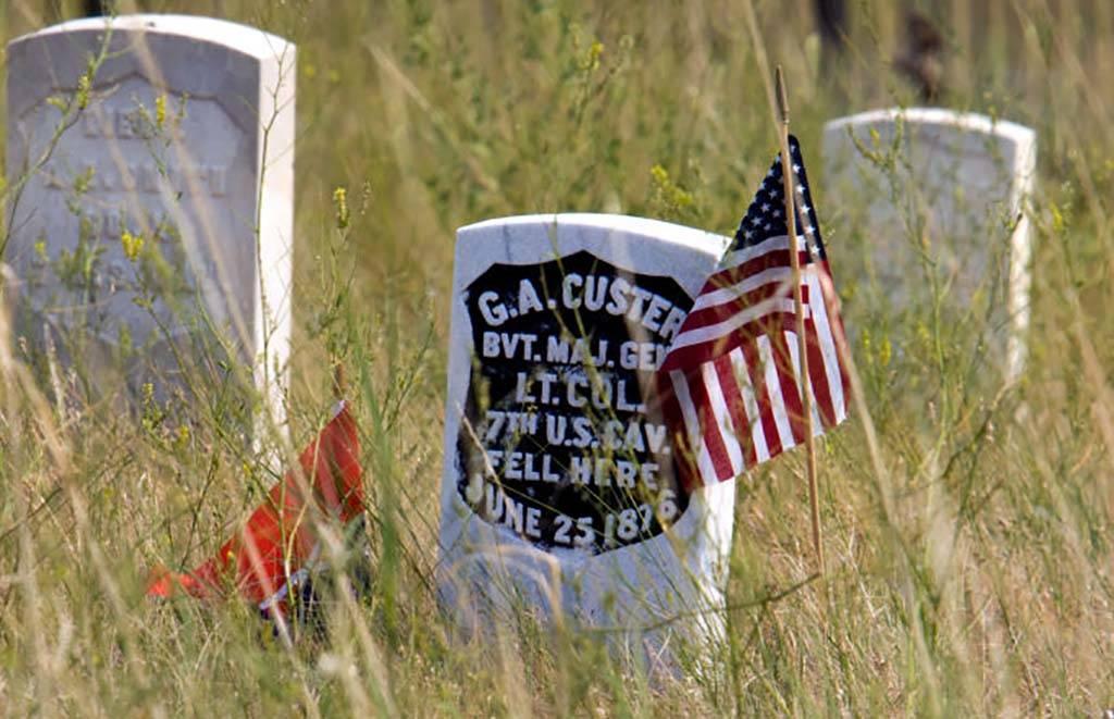 Custer's grave