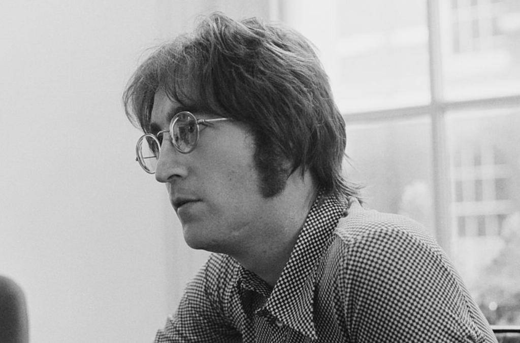 John Lennon being interviewed