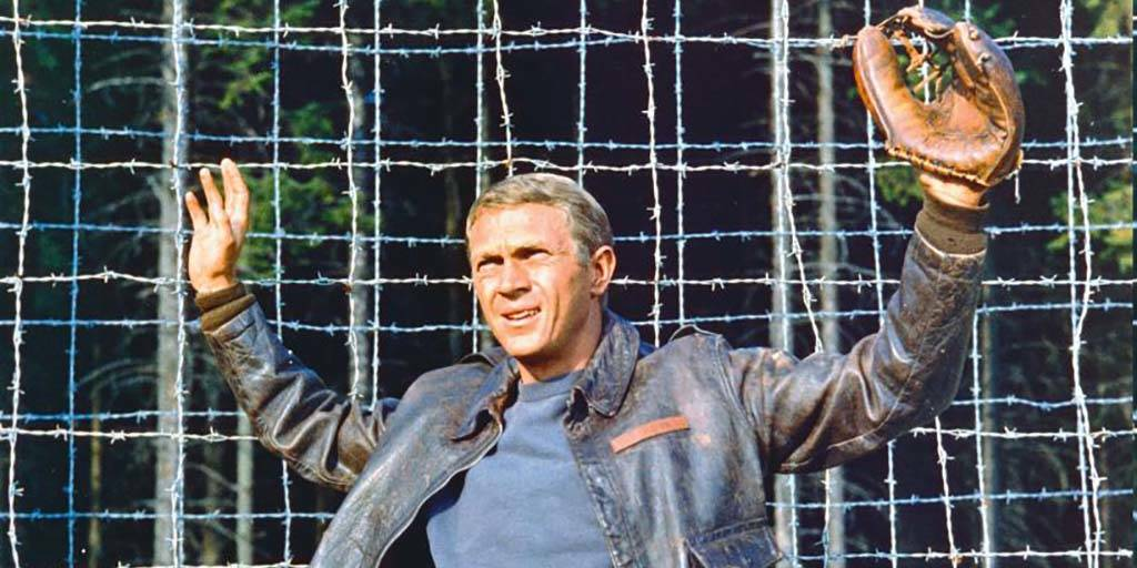 McQueen with baseball glove
