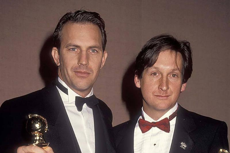 Costner and Blake at the Golden Globes