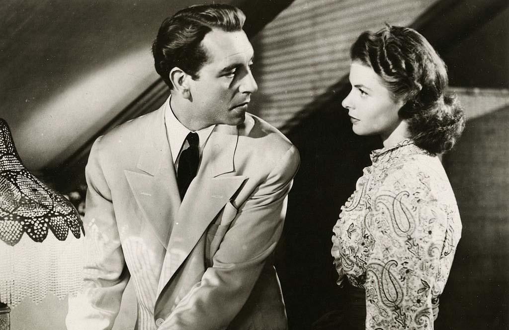 Paul Henreid and Ingrid Bergman