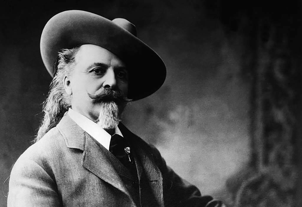 Portrait of Buffalo Bill