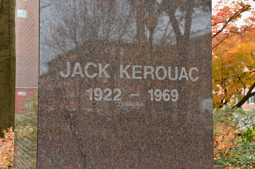 Jack Kerouac tombstone