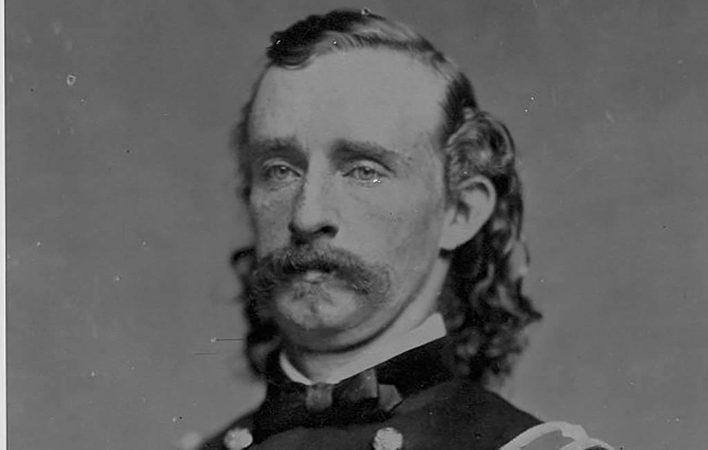 Portrait Of Custer