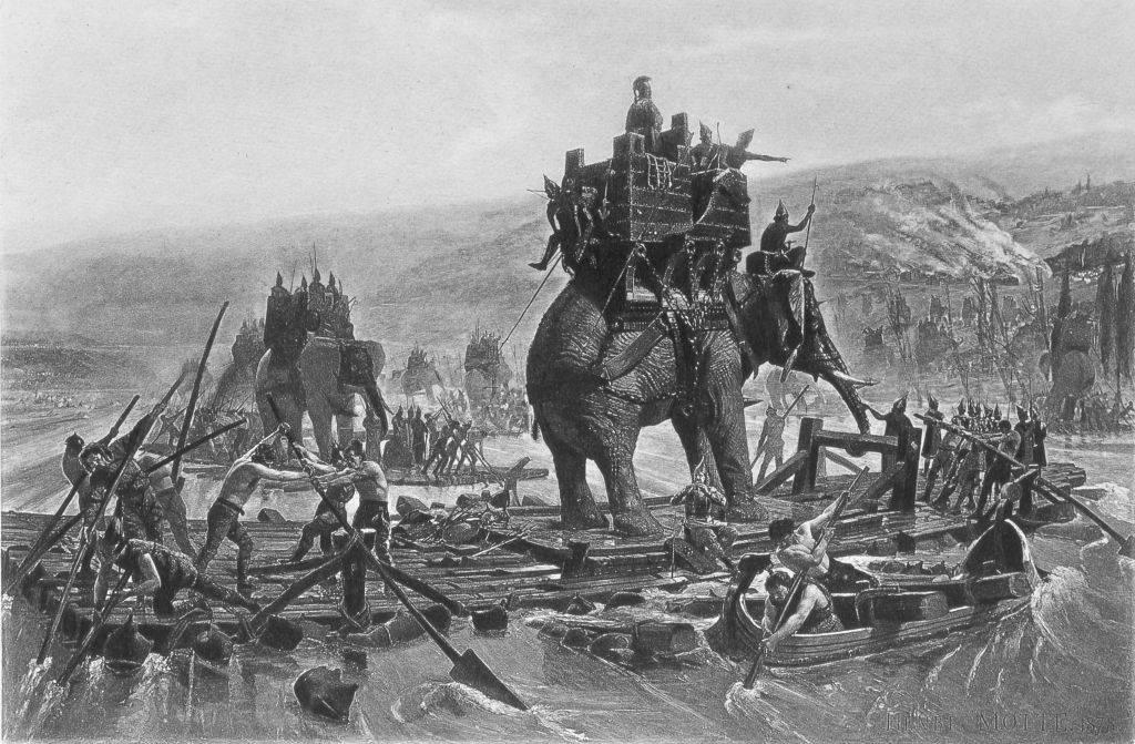 riding an elephant -919807876