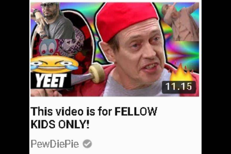 Video title: This video is for FELLOW KIDS ONLY