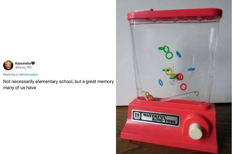 Tweet: Not necessarily elementary school, but a great memory many of us have.