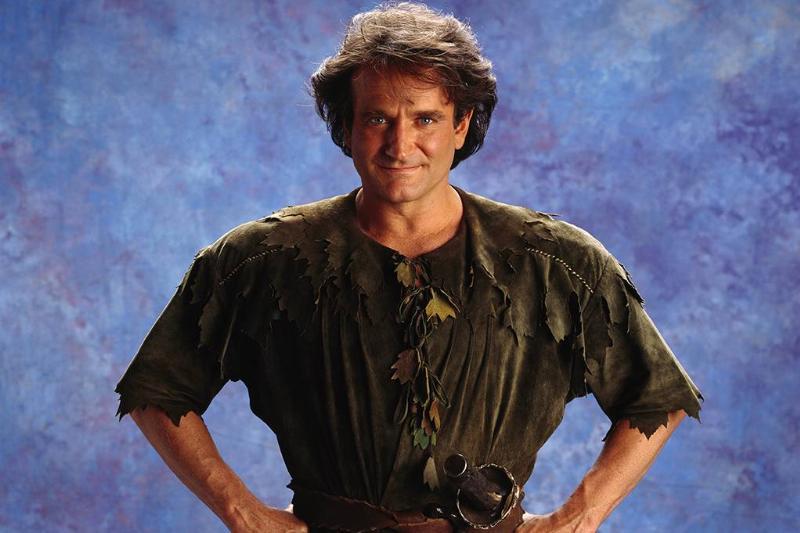 Williams as Peter Pan