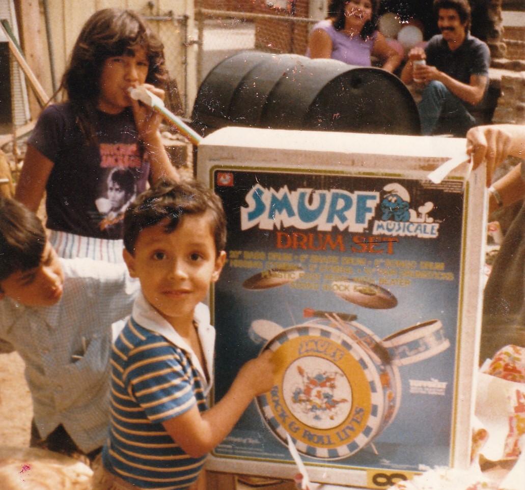 smurf-drum-set