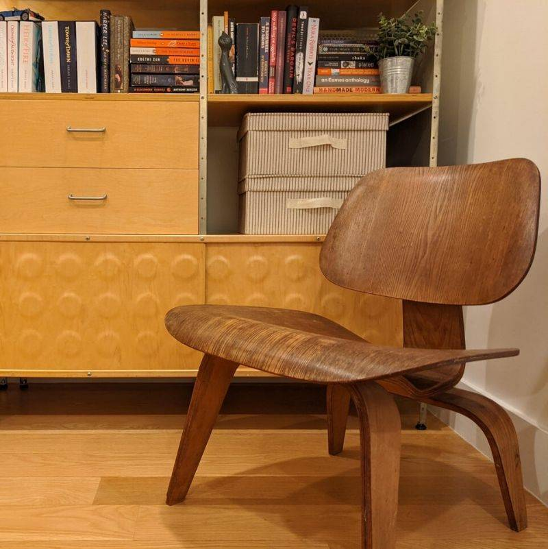 a chair from the 70s