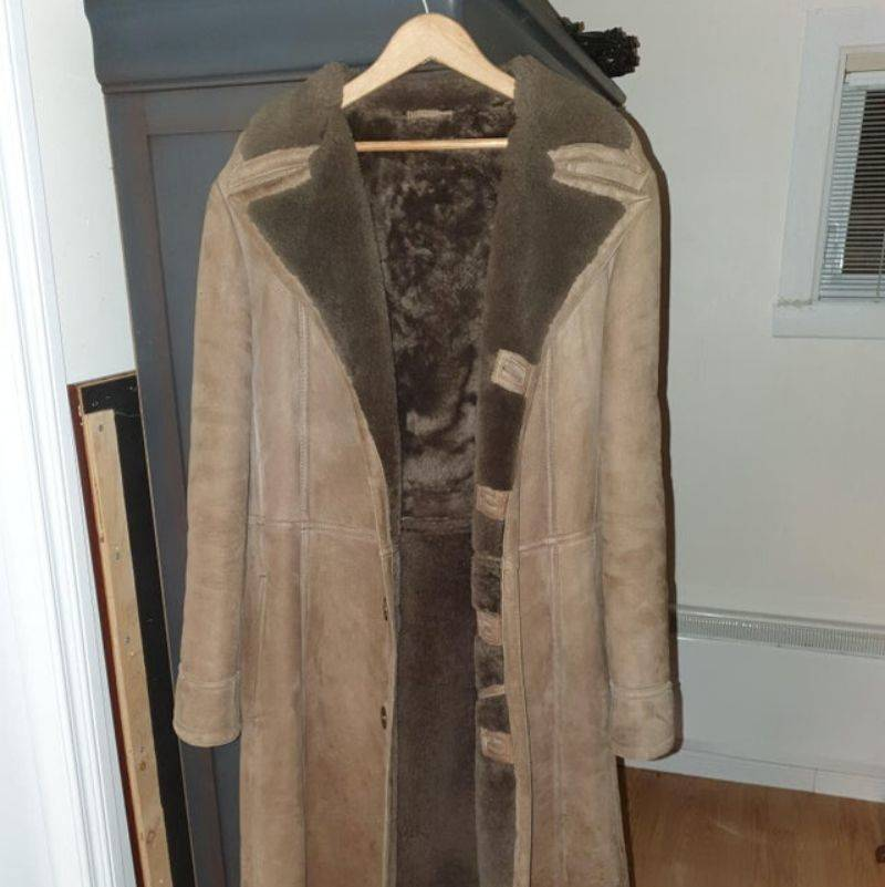a coat someone got from their grandma