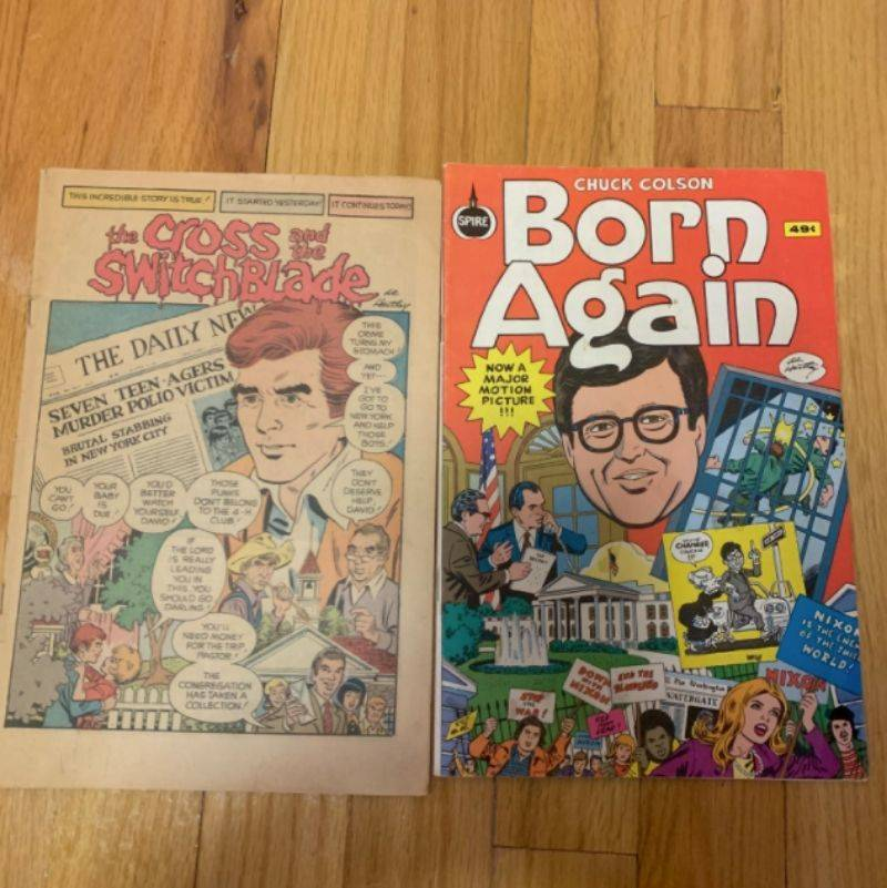 old Christian comic books