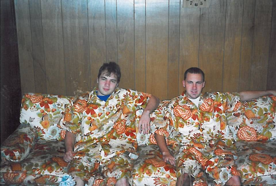 shirts that blend in to the couch