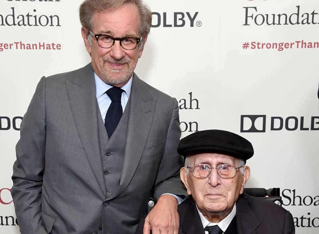 Spielberg and his father